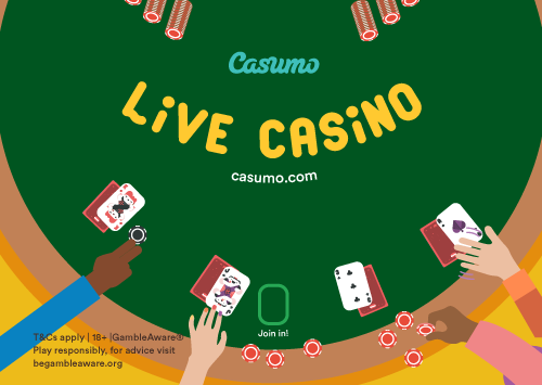 Casumo Live Blackjack