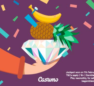 Casumo Jackpot Gewinn