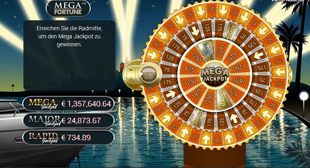 Mega Fortune Slot Bonusspiel