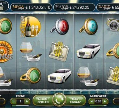 Mega Fortune Slot Walzen
