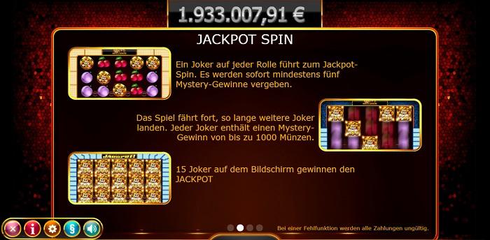 Joker Millions Jackpot Spin
