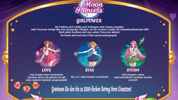 Moon Princess Bonusfeature