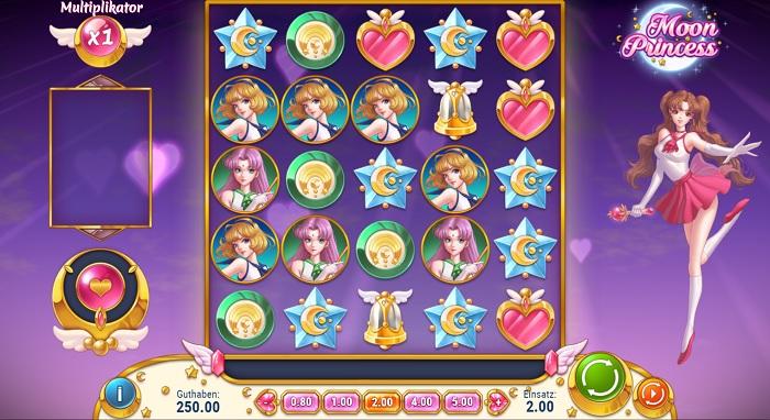 Moon Princess Spielbildschirm