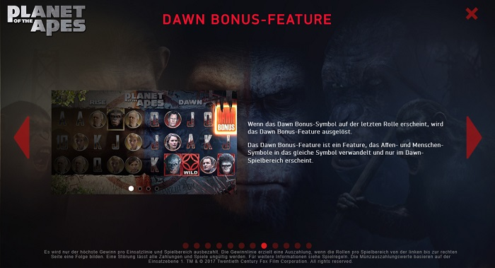 Planet of the Apes Dawn Bonus Feature