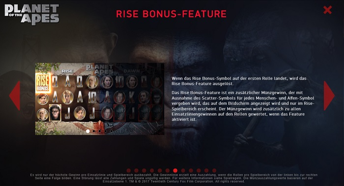 Planet of the Apes Rise Bonus Feature