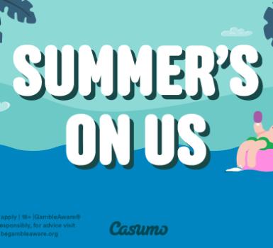 Sommer Kampagne Casumo