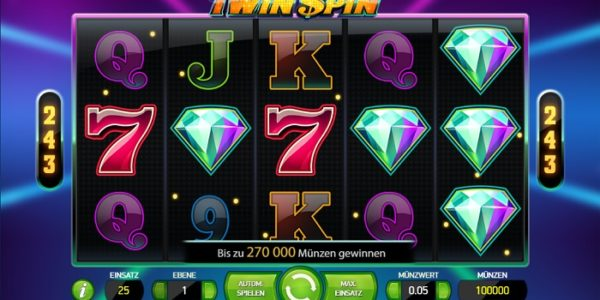 Slot Review: Twin Spin