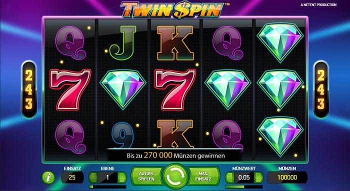 Twin Spin Casumo