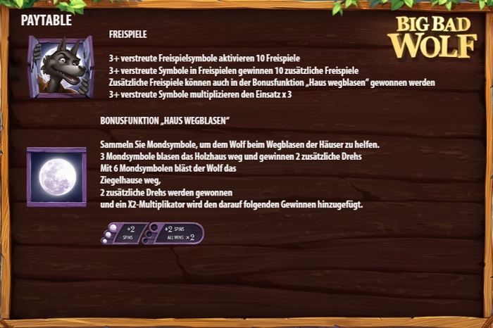 Big Bad Wolf Freispiele