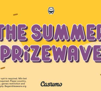 Casumo Sommerpreiswelle ist angekommen