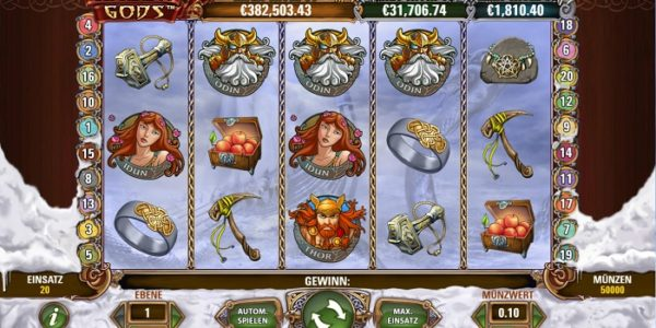 Slot Review: Hall of Gods