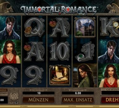 Immortal Romance Casumo