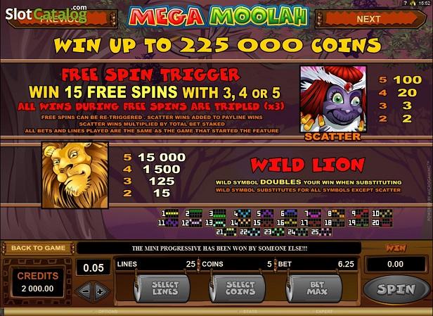 Mega Moolah Wilds