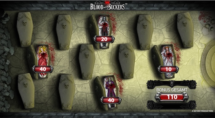 Blood Suckers Bonus Game