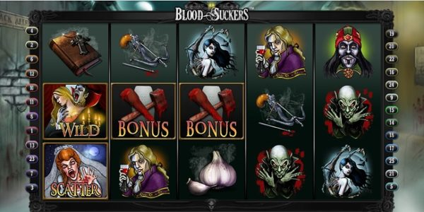 Slot Review: Blood Suckers