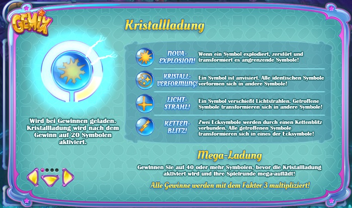 Gemix Kristallladung