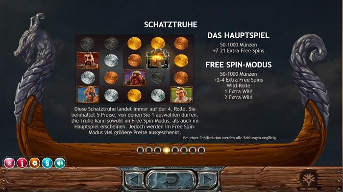 Vikings Go Berzerk Schatztruhe