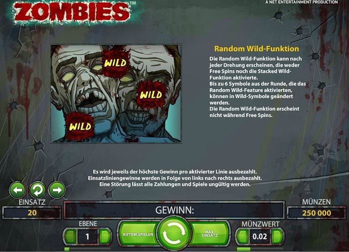 Zombies Random Wilds