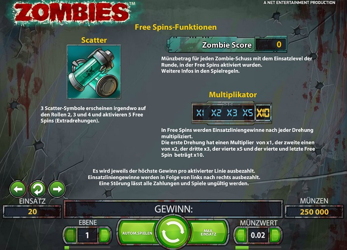 Zombies Scatter