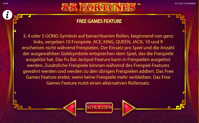88 Fortunes Free Games