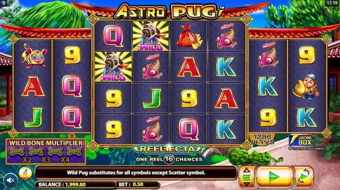 Astro Pug Bildschirm