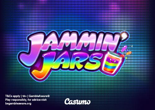Jammin' Jars Exklusiv auf Casumo
