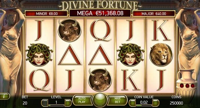 Divine Fortune Casumo