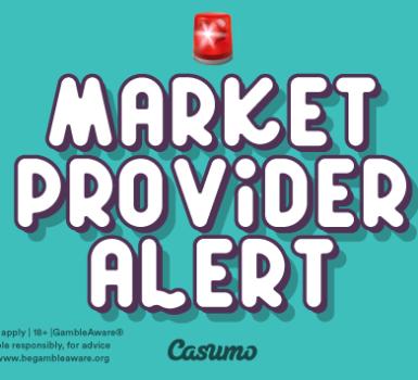 Casumo Märkte und Anbieter