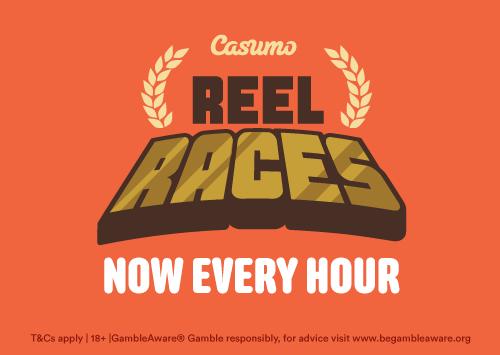 Casumo Reel Races jetzt jede Stunde