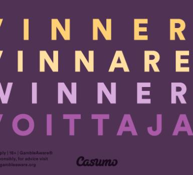 Gewinner auf Casumo