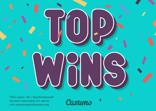 Top Wins on Casumo