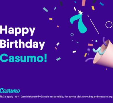 Casumo feiert Geburtstag