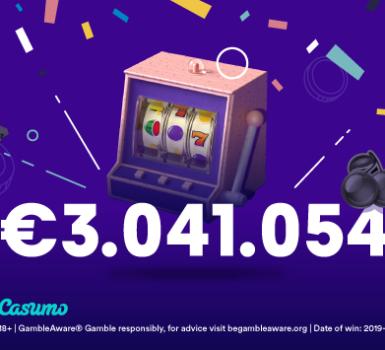 Finnischer Spieler gewinnt Monster-Jackpot auf Casumo