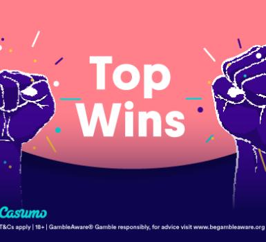 Top Gewinne im Januar auf Casumo