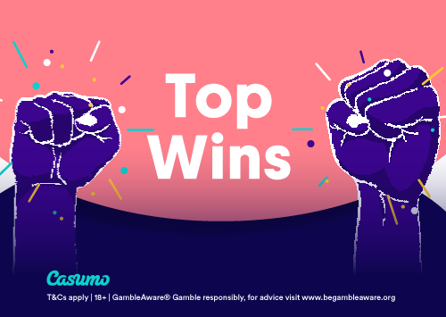 Top Gewinne im Oktober auf Casumo