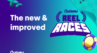 Neu und verbessert die Casumo Reel Races wurden überarbeitet
