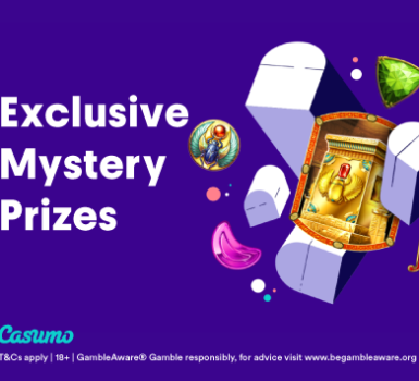 Exclusive Mystery Prizes Casumo