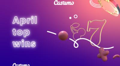 Top Gewinne im April auf Casumo