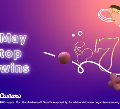 Top Gewinne im Mai auf Casumo